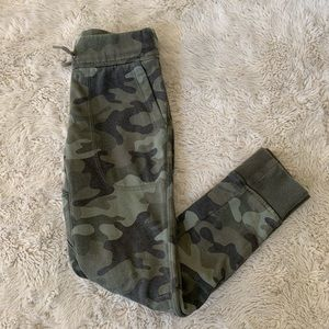Children's gap camouflage sweat pant joggers